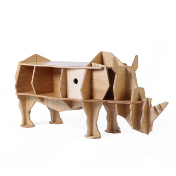 D Origine Africaine Rhinoceros Table Basse Laterale Animal Modelisation Bricolage Bar Hotel Bibliotheque Creative Restaurant Meubles A La Maison Buy