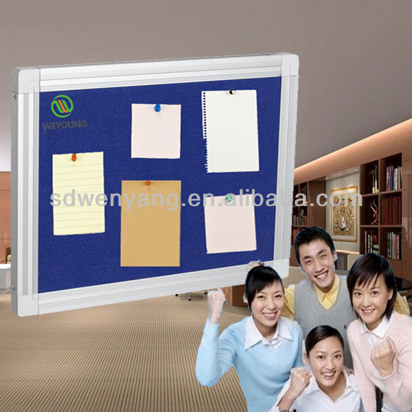 FB-82 School Wall Mounted Fabric Board / Notice Board With Pins