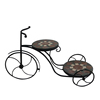 classical metal iron bicycle planter sale for home decor