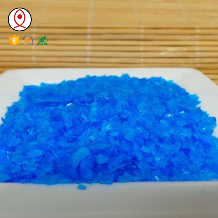 96% Agricultural Grade Copper Sulphate <strong>Manufacturing</strong>