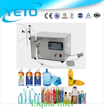 10-10000ml Electric degital time control filler table top liquid filling machine price