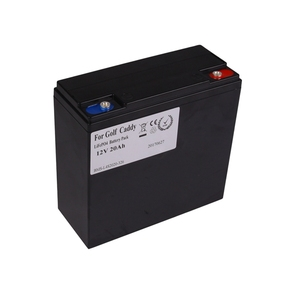 KOK POWER LiFePO4 12V Battery Pack 12Ah 20Ah 22Ah Lithium Rechargeable Golf Caddy 26650 Battery 250W
