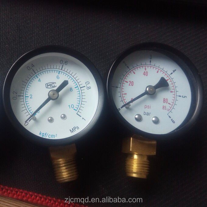 water pressure gauge gas pressure various gauge manometer