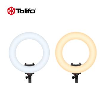tolifo R-40B AC bi-color SMD LED beads mobile phone fill light studio kit  led ring light makeup circle selfie light, View mobile phone fill light,