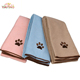 Wholesale Embroidery Pet Towel High Quality Dog Bath Towel