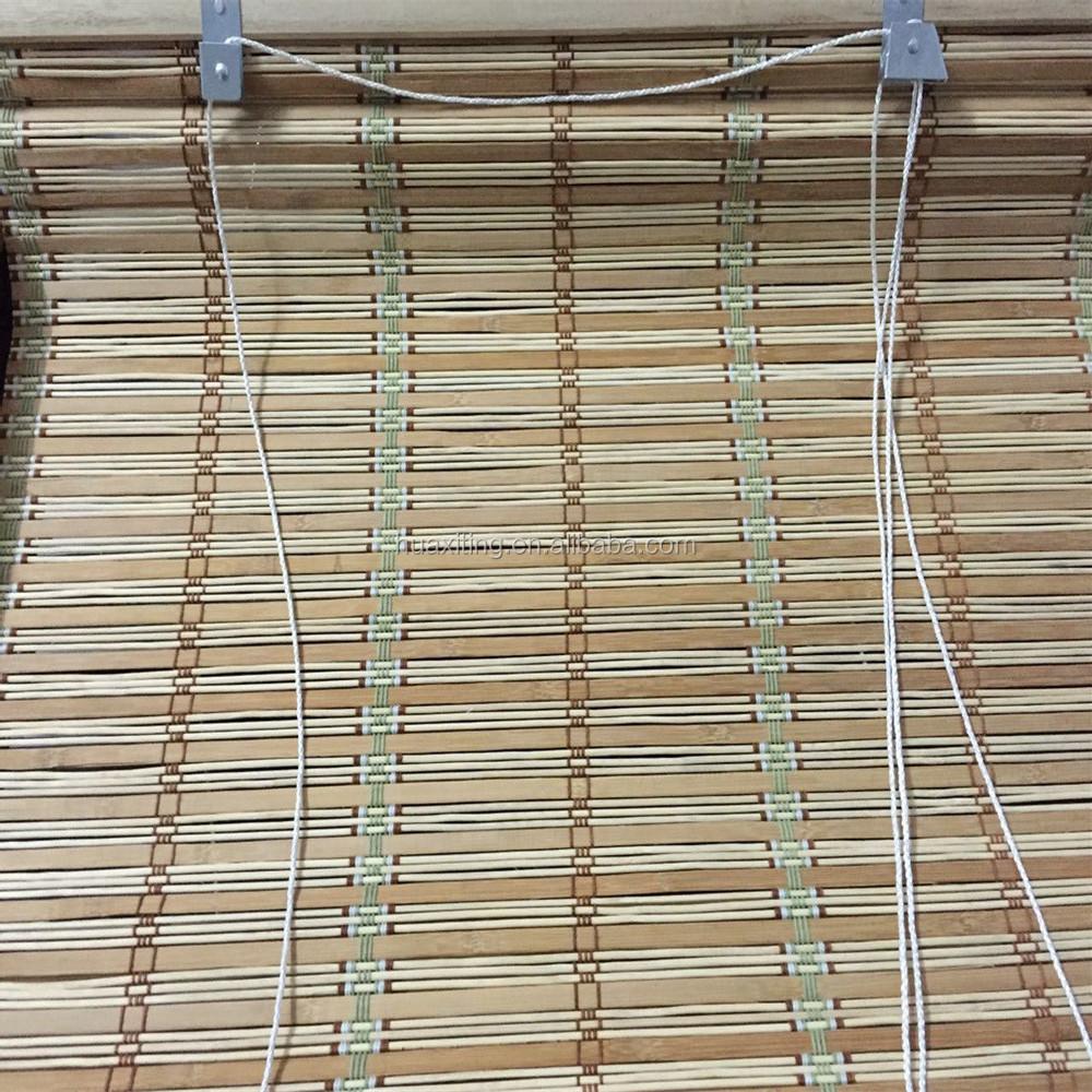 Di bamb roll up cieco esterno tende alla veneziana di - Tende bambu per esterno ...
