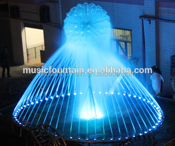 Factory supply Original design led light garden fountains water features