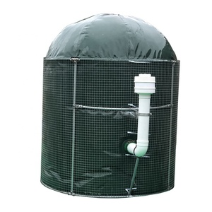Mini size DIY kit portable assembly recycling kitchen food waste cow dung small fermentation system home use biogas plant