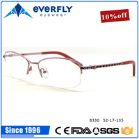 2016 new arrival collection women lady style frames hot selling metal alloy optical spectacle frames for distribution price