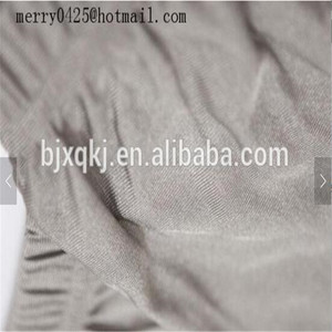 Silver Antibacterial antiradiation nano fiber conductive thread nano silver underwear fabric