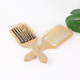Wholesale air cushion massage wooden paddle custom hair brush