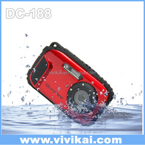 Digital camera 10M underwater 8x digital zoom underwater camera