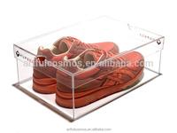 best price stackable drop front shoe box