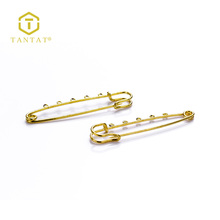 Jewellery Making Supplies Gold Brooch Findings Kilt Pin Clasps