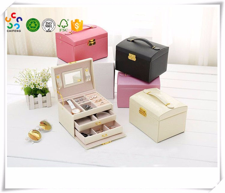Handmade Professional PU Leather Girl's Manicure Pedicure Tool Set Mini Size