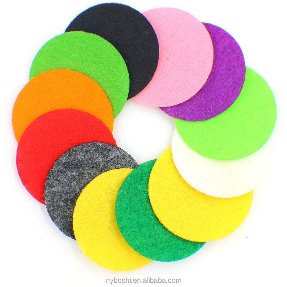 Felt Pads 31mm for 33mm Essential Oil Diffuser Perfume Locket