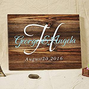 Get Quotations Wedding Guest Book Rustic Wooden Sign Custom Alternative