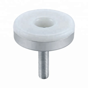 Adjustable glide screw feet/plastic furniture glides for chairs/leveling feet glides