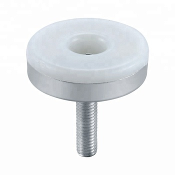 Adjustable Glide Screw Feet Plastic Furniture Glides For Chairs