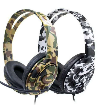 Cheap Price Gaming Wired Headset For Ps4/xbox Camo Gaming Headphone With  Mic - Buy Wired Gaming Headset With Mic For Ps4,Gaming Headphone For  Ps4,Camo