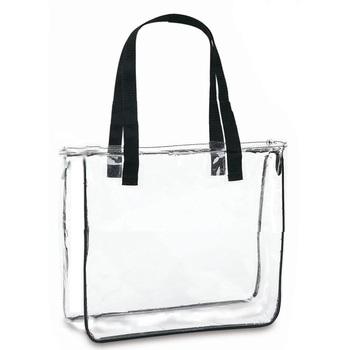 Transpa Pvc Zippered Tote Bag Beach Product On Alibaba