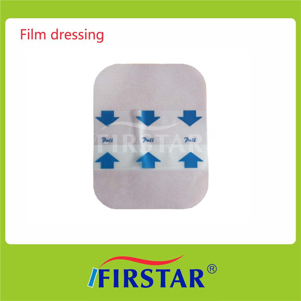 Custom available transparent film dressing in roll format