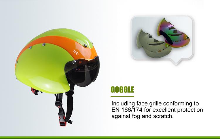 Newest Top-level Aerodynamic Time Trial Helmet Tt Helmet 5