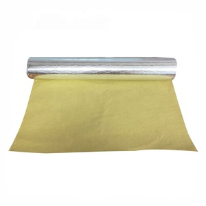 Double side woven aluminum foil backed fabric aluminium thermal insulation materials