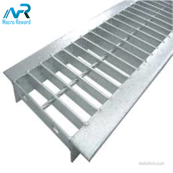 Hot dipped galvanized stainless steel drainage floor grating mesh panel for construction