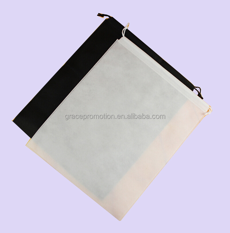 Портативная тканевая сумка на шнурке с логотипом на заказ