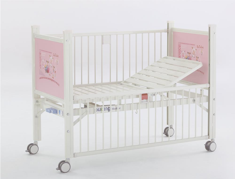 Hospital Epoxi Semi-fowler Cama De Bebé Recién Nacido Medicina Niños ...