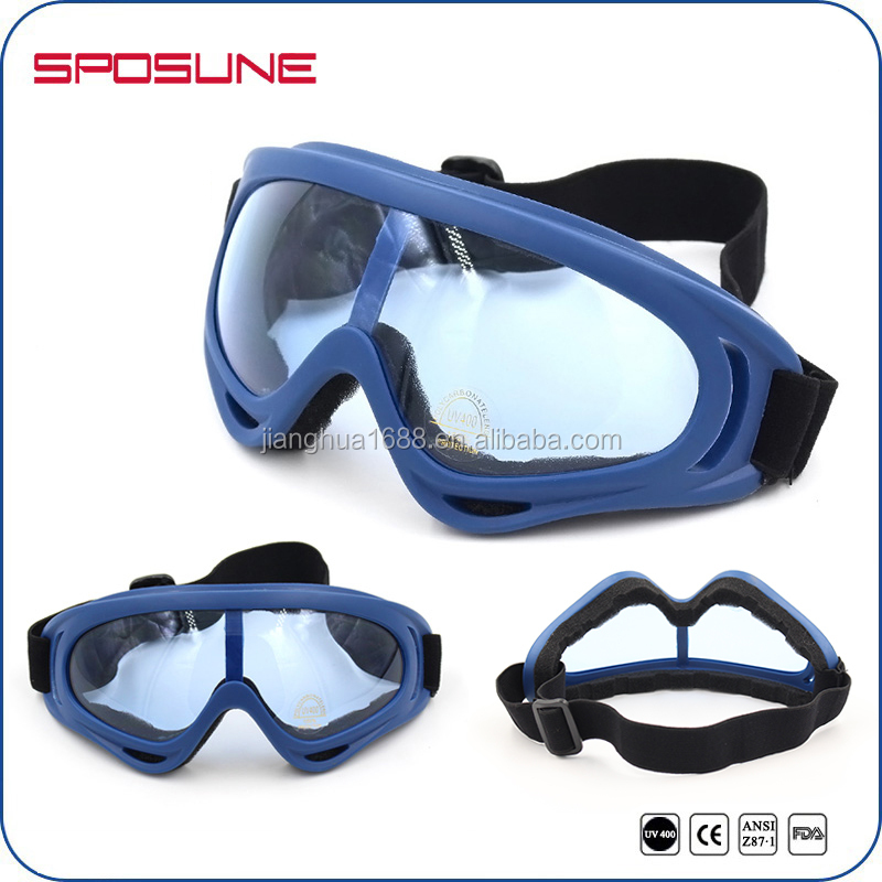 UV400 Eye Protective Professional Grass Sledding Sliding Goggles Grass Skiing Glasses