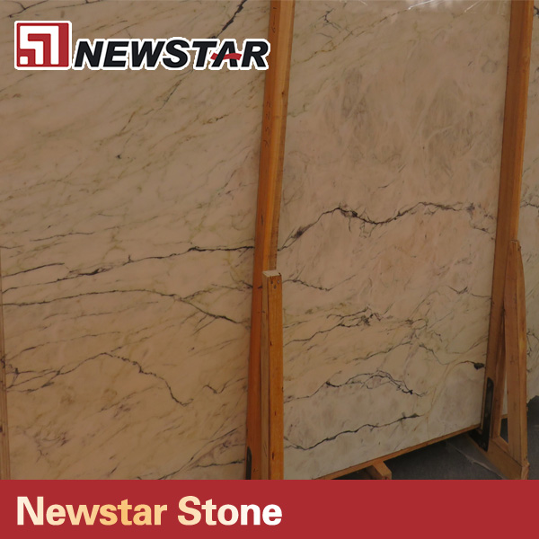 Newstar wholesale slabs stone type white marble slab sizes