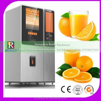 Ce Approved Fresh Fruit Juice Vending Machine Fresh Squeezed Orange