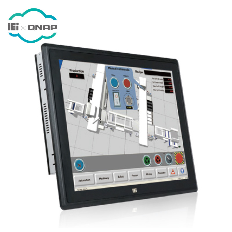 IEI PPC-F19B-BT, 19 inch Industrial Panel PC with Intel Celeron J1900, 2GB, Resistive Touch Screen