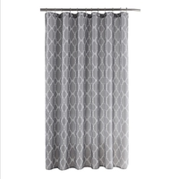Beautiful printed PVC/PEVA/POLYESTER shower curtain with beautiful design