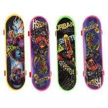 4pcs lot Cute Party Favor Kids Children Mini Finger Board Fingerboard Skate Boarding Toys for