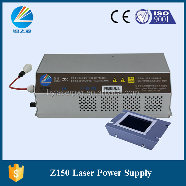 hongyuan newest version high voltage 150W CO2 Laser Power Supply with Trouble shooting on RUIDA PANEL
