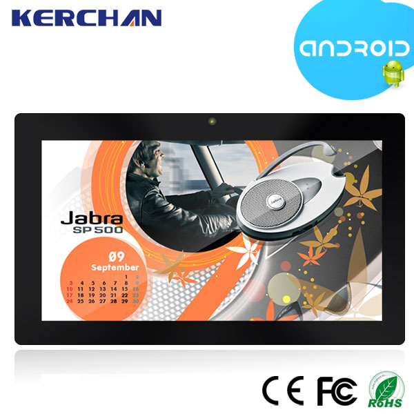 Android 4.4 Super wireless digital signage player wifi advertising