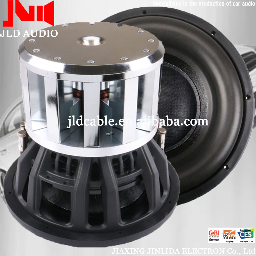 "2016 new Hot sale 12"" power neo car subwoofer 3000W RMS for cars"