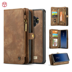 CaseMe For Samsung Galaxy Leather Case, Cellphone Case For Samsung Galaxy S9 Case