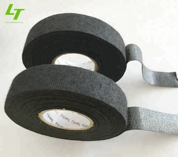 polyester fleece black cloth wire harness tape
