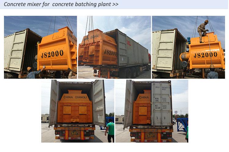 0,5 cúbicos de hormigón planta de reciclaje de residuos de la planta de cemento de mini