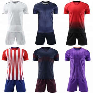 Cheap thai quality soccer uniform 2018 / 2019 new soccer jersey set