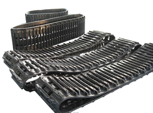 Factory Supply Hagglunds BV 206 ATV Rubber Track with 12 MONTHS Warranty, Service Avaliable ANY TIME