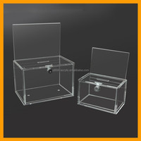 Best seller wall mount decorative money donation box with cheap price