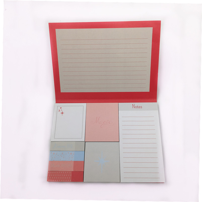 Professional manufacturer of custom printing with hard cover sticky note memo pad