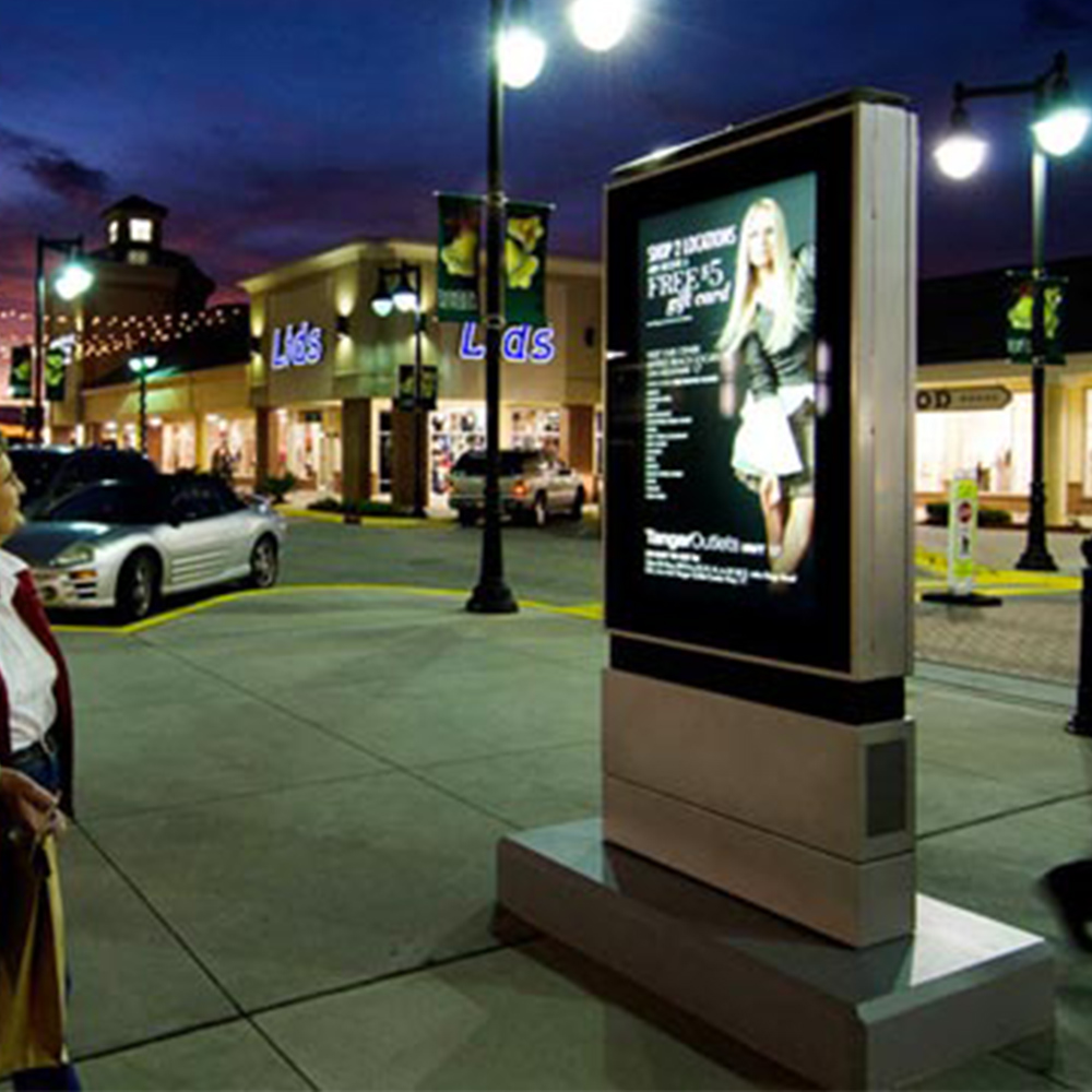 42 inch IP65 LCD sdvertising sun readable outdoor digital signage