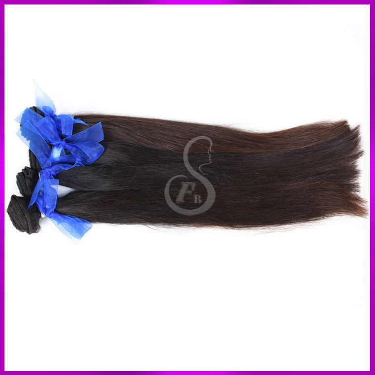Very nice-looking high quality virgin human silky straight brazilian human hair extensions salon relaxed hair