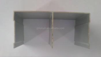 European common 10mm top aluminum sliding door track profile for wardrobe & European Common 10mm Top Aluminum Sliding Door Track Profile For ... Pezcame.Com